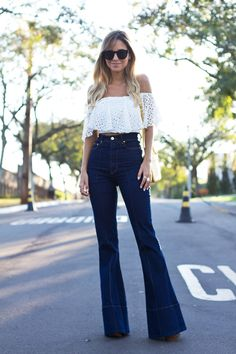 blogueira-flare-jeans-5.jpg (650×975)