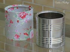 1 million+ Stunning Free Images to Use Anywhere Mummy Crafts, Tin Can Crafts, Diy Crafts For Kids, Mod Podge Crafts, Recycle Cans, Aluminum Cans, Canning Jars, Jar Storage, Diy Art