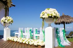 Stunning flower options #NowAmberPuertoVallarta #Mexico #DestinationWedding
