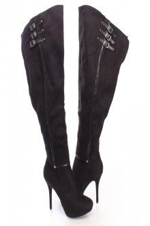 Triple Threat Thigh-High Boots (preorder) – Colors of Aurora