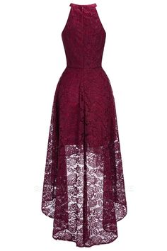 Babyonlinewholesale offers Halter Sleeveless Sheath Asymmetrical Burgundy Lace Dresses at a cheap price from Dusty Rose,Burgundy,Dark Navy, Lace to A-line Mini them. Cute Lace Dresses, Prom Dresses Uk, Party Dresses For Women, Simple Dresses, Pretty Dresses, Beautiful Dresses, Short Dresses, Dress Lace, Maxi Dresses