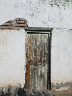 Distressed Door 2 canvas print