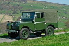 """1952 Land Rover Series I 80"""" - Silverstone Auctions"""