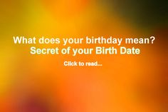 Birthday Meaning & Birthday Numerology, What does your birthday mean? birthday numerology and the secret of of your birth date of any month of dates - 1 to 31 Aquarius Sign, Aquarius Woman, It's Your Birthday, 60th Birthday, Birthday Wishes, Birthday Gifts, Capricorn Personality Traits, Meaning Of Your Name, Learning Patience