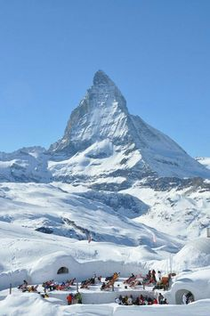 Mt. Matterhorn Switzerland