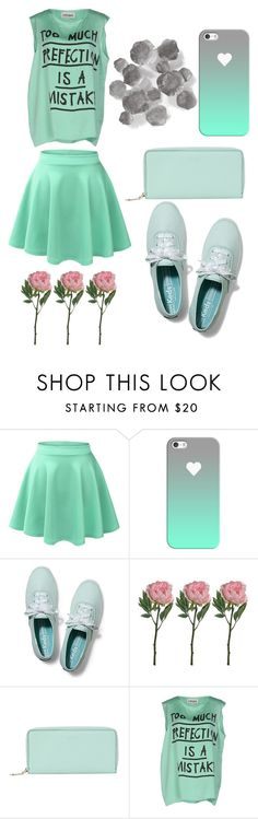 """Untitled #19"" by louie-the-unicorn ❤ liked on Polyvore featuring LE3NO, Casetify, Keds, Lancel, 5 Preview and Palecek"