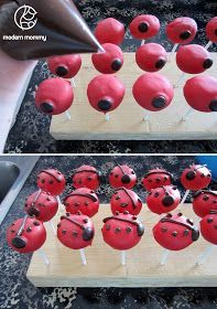 Modern Mommy: Make It Monday: Ladybug Cake Pops