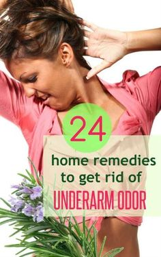 How to get rid of smelly armpits naturally