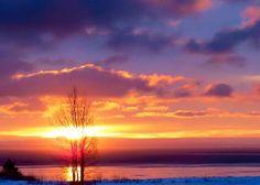 Lever du soleil Baie Ste-Catherine