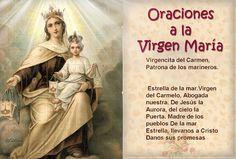 Santa María, Madre de Dios y Madre nuestra: Oracion a la Virgen de Carmen