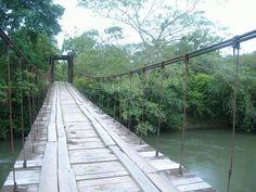 Driving over insane bridges in Upala, Costa Rica