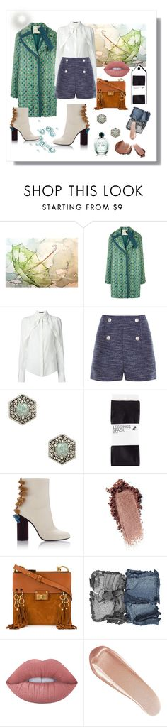 """Easy Breezy"" by ohnoflo on Polyvore featuring Marco de Vincenzo, Alexander McQueen, Balenciaga, Rebecca Minkoff, H&M, Chloé, NARS Cosmetics, Lime Crime and Giorgio Armani"