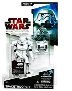 Star Wars 2009 Legacy Collection BuildADroid Action Figure Spacetrooper * Continue to the product at the image link.Note:It is affiliate link to Amazon.
