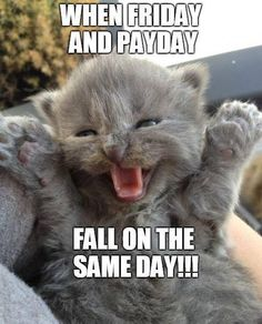 Friday & Payday!