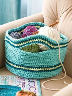 Easy Crochet Baskets ✿⊱╮Teresa Restegui http://www.pinterest.com/teretegui/✿⊱╮