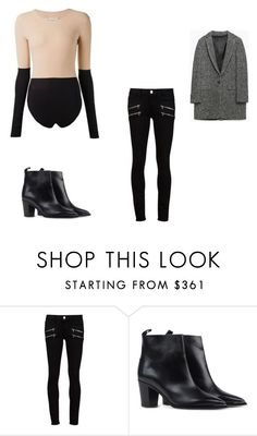 """Untitled #8946"" by andreeascafariu ❤ liked on Polyvore featuring Paige Denim, Acne Studios and Zara"