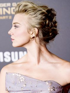 Natalie Dormer attends the premiere of The Hunger Games: Mockingjay - Part 2 at the Microsoft Theater in Los Angeles, California on November 16, 2015.