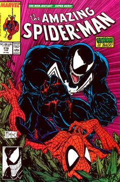 The cover to Amazing Spider-Man #316 (1989), art by Todd McFarlane