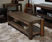 Reclaimed Coffee Table - Pallet Wood & Barn Wood Style - presEARTH Spice