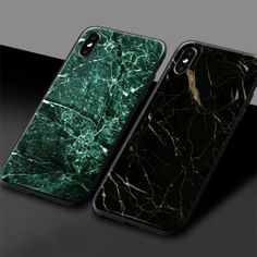 Aesthetic Marble pattern texture Tempered Glass Shell Phone Case Soft Silicone For iPhone Se 6 7 8 Plus X XR XS 11 PRO MAX Outfit Accessories From Touchy Style. Iphone 5s, Iphone 7 Phone Cases, Cute Phone Cases, Phone Covers, Best Iphone Case Brands, Wildflower Phone Cases, Pattern Texture, Friends Phone Case, Shell