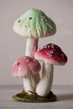 Mini Fabled Mushroom Sculpture - anthropologie.com