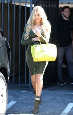 Khloe Kardashian reminds everyone she too has a generous derriere #dailymail