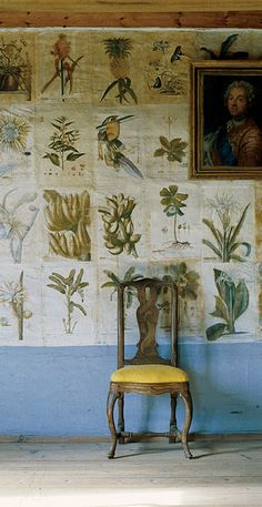 Botanical mural idea