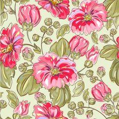 Pintado a mano las flores vector material de fondo -5