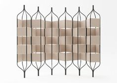 "Room Divider by Fabric by INNOFA ""Mosaic"" colour ""Shell"""