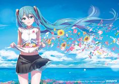 hatsune miku Part 106 - - Anime Image Vocaloid, Kaito, Anime Music, Anime Art, Anime Chrome Themes, Kaai Yuki, Geeks, Miku Chan, Mikuo