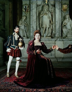 Chan-Hyo Bae. Existing in Costume - Mary Stuart 2012  C print, Edition of 3, 230 x 180 cm / 90.5 x 70.75 in