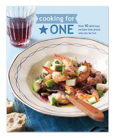 Look at this #zulilyfind! Cooking for One Recipe Book #zulilyfinds