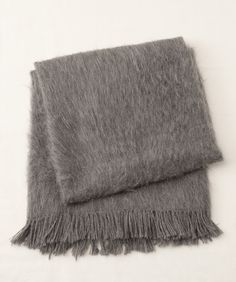 ARMANDO BRUSHED ALPACA THROW by From the Road