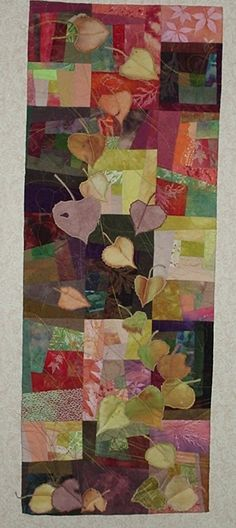 September Song  wall hanging quilt