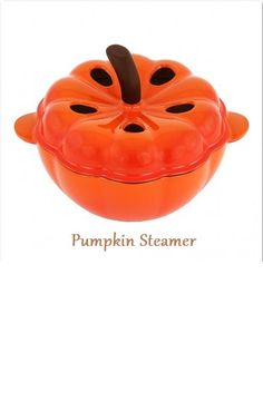 Pumpkin Steamer: Bring a touch of color to your stove while adding moisture to the air with this adorable pumpkin steamer. It features a base made of durable cast iron with an orange baked enamel. It holds up to 2.2 quarts.
