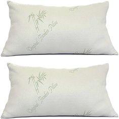 Pillows for Sleeping - Original Bamboo Pillow - Standard ...