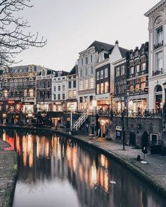 Amsterdam at Dusk Oh The Places You'll Go, Places To Travel, Places To Visit, Travel Goals, Travel Style, Travel City, Travel Aesthetic, Adventure Is Out There, Wonders Of The World