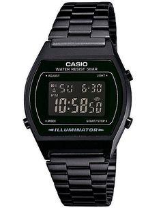 Casio Collection B640WB-1BEF 25102 Montre numérique de style rétro Noir: Amazon.fr: Montres