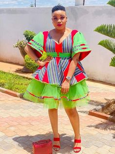 African Outfits, Latest African Fashion Dresses, Ankara Fashion, African Dress, Women's Fashion, Venda Traditional Attire, Traditional Outfits, South African Traditional Dresses, Graduation Outfits