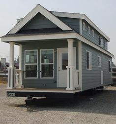 Exterior Pic Big Tiny Home on Wheels- wish it had a link to the site with interior layout and pics.