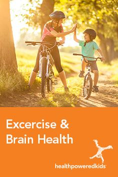 Exercise and Your Brain - Health Powered Kids Aerobic Activity, Brisk Walking, Heart And Lungs, Brain Health, Your Brain, Aerobics, Stress Management, Physical Activities, Excercise