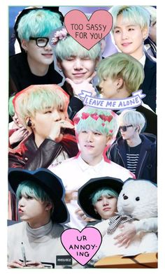 """suga collage!!!!"" by bvngtangboys ❤ liked on Polyvore"