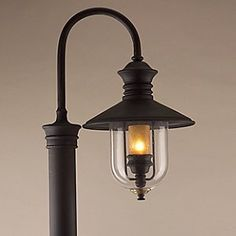 Old Town Outdoor Postmount Lantern by Troy Lighting