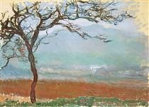 Landscape at Giverny - Claude Monet