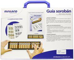 Miniland - Set guía Sorobán y ábaco japonés (95084): Amazon.es: Juguetes y juegos