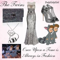 Disney Style: The Twins, created by trulygirlygirl on Polyvore