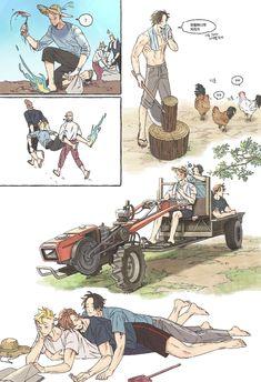 Marco, Thatch e Ace One Piece Meme, One Piece Funny, One Piece Comic, One Piece Ship, One Piece Fanart, One Piece Manga, Anime Couples Manga, Cute Anime Couples, Anime Girls