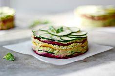 """fruit-loop-vegan: """"Beet Rawzagne by wholehearted eats Recipe: (Serves 1 Medium to Large Red Beetroot 1 Medium to Large Golden Beetroot 2 Small Baby Zucchini 1 Lemon, juiced 3 Tbsp. Raw Vegan Recipes, Veggie Recipes, Healthy Recipes, Paleo, Beet Recipes, Vegan Raw, Vegan Meals, Vegan Food, Vegan Vegetarian"""