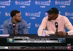 Steph Curry and Kevin Durant were hilariously amazed at reporter's use of the word 'kerfuffle' | For The Win