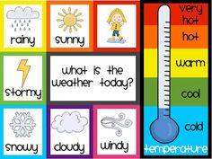 6 Best Images of Printable Weather Calendar - Weather Graphs Free Printables, Preschool Weather Chart Graph and Weekly Weather Chart Printable Preschool Weather Chart, Weather Graph, Weather Cards, Weather Unit, Weather Activities, Weather Kindergarten, Teaching Weather, Weather Science, Weather Worksheets